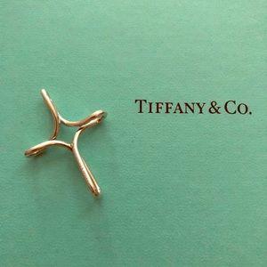 Authentic Tiffany & Co. Infinity Cross Pendant